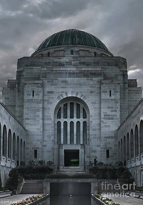 Canberra Photograph - Hall Of Memory by Jan Pudney