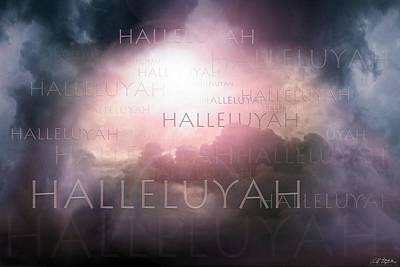 Digital Art - Halleluyah by Bill Stephens