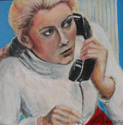 Painting - Hallo by Art Ilse Schill