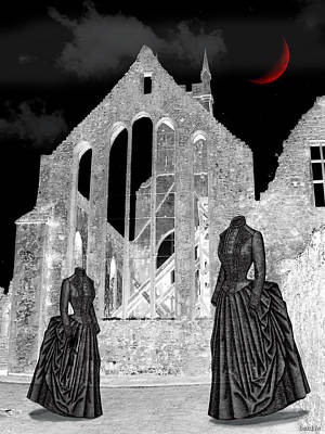 Haunted Grounds Art Print