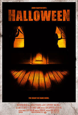 John Digital Art - Halloween Alternative Movie Poster by Christopher Ables