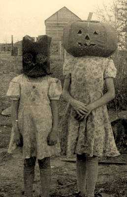 Ghost Story Photograph - Halloween by American School