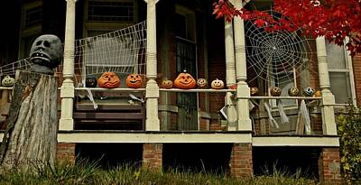 Photograph - Halloween At The Villa by Chris Berry