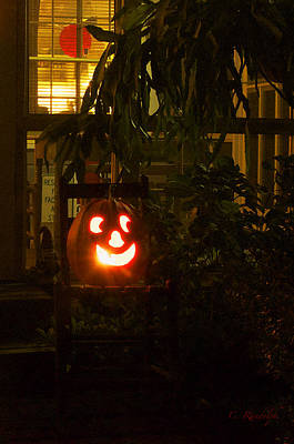 Photograph - Halloween Beacon by Cheri Randolph