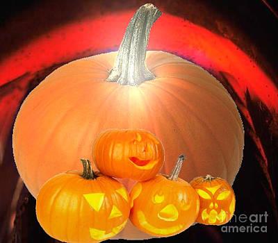Digital Art - Halloween by Belinda Threeths
