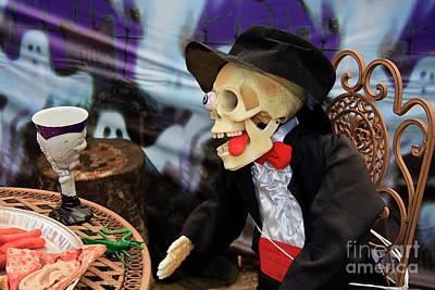 Photograph - Halloween Bridegroom by Jill Lang