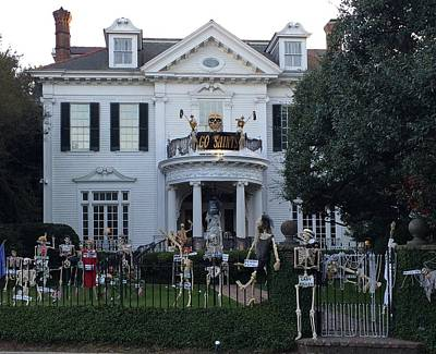 Photograph - Halloween Decor New Orleans Style by Cindy Croal