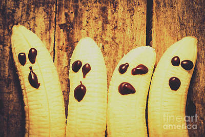 Banana Wall Art - Photograph - Halloween Healthy Treats by Jorgo Photography - Wall Art Gallery