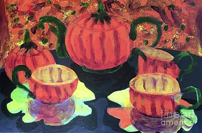Painting - Halloween Holidays by Donald J Ryker III