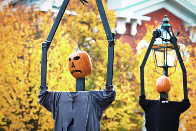 Photograph - Halloween In Portsmouth Nh by Eric Gendron
