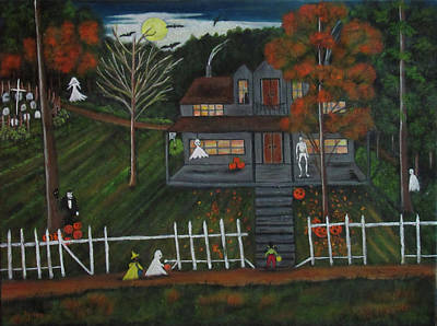 Halloween In The Country Original