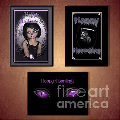 Digital Art - Halloween by JH Designs