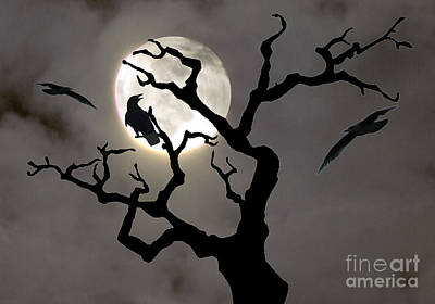 Halloween Art Print by Jim Wright