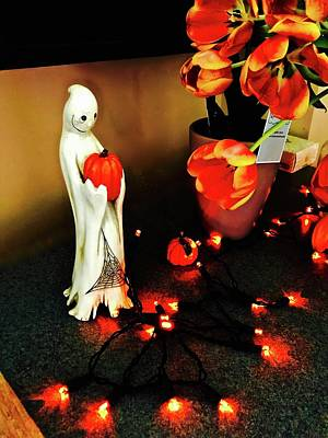 Photograph - Halloween Lanterns by Brian Sereda