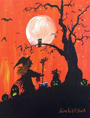 Painting - Halloween by Linda Clark