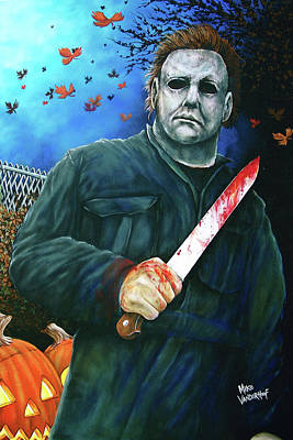 Painting - Halloween by Michael Vanderhoof