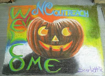 Halloween Ncohc Welcome Art Print by Scarlett Royal