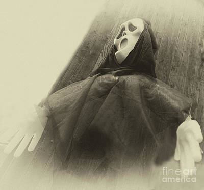 Photograph - Halloween No 2 - The Scream by Eva-Maria Di Bella