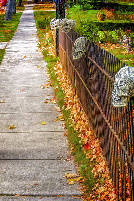 Monster Photograph - Halloween On Tillson Street by LeeAnn McLaneGoetz McLaneGoetzStudioLLCcom