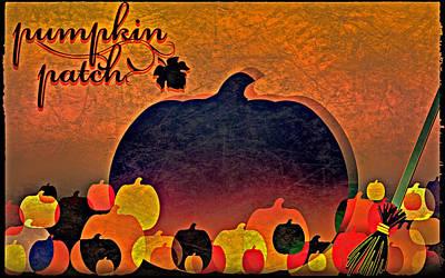 Halloween Pumpkin Patch Art Print