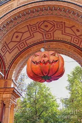 Photograph - Halloween Pumpkin by Patricia Hofmeester