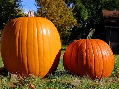 Photograph - Halloween Pumpkins by Kyle West