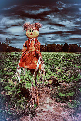 Photograph - Halloween Scarecrow  by Debra Forand