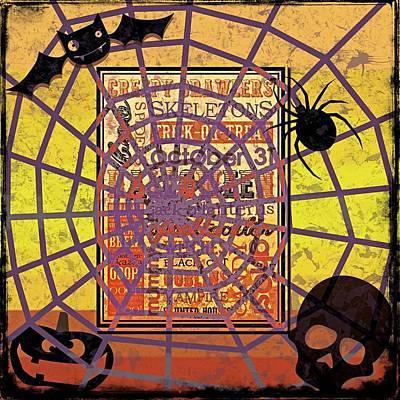 Halloween Spooktacular - Grunge Art Print