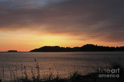 Kodiak Photograph - Halloween Sunrise by Carolyn Brown