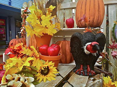 Photograph - Halloween Tableau by Denise Mazzocco