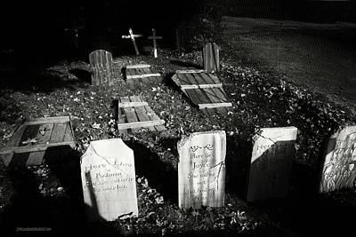 Photograph - Halloween Tombstones On Tillson Street by LeeAnn McLaneGoetz McLaneGoetzStudioLLCcom