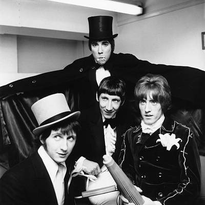 Photograph - The Who - Halloween 1960's by Chris Walter