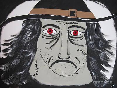 Halloween Witch Art Print by Jeffrey Koss