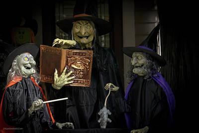 Photograph - Halloween Witches On Tillson Street by LeeAnn McLaneGoetz McLaneGoetzStudioLLCcom