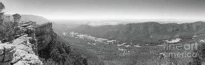 Photograph - Halls Gap Grampians Black And White by Tim Hester