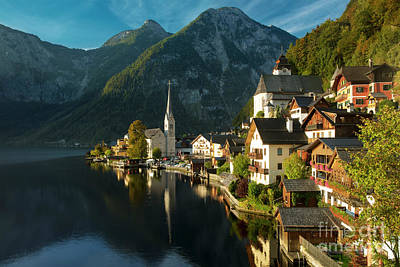 Photograph - Hallstatt Dawn by Brian Jannsen