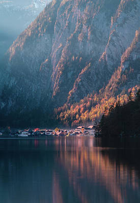 Photograph - Hallstatt Fall by Geoff Smith