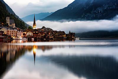 Photograph - Hallstatt Lake by Bez Dan