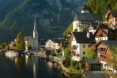 Photograph - Hallstatt Morning by Brian Jannsen