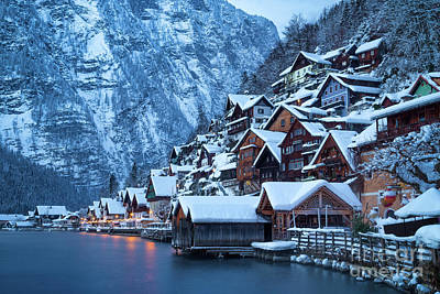Photograph - Hallstatt Winter Magic by JR Photography