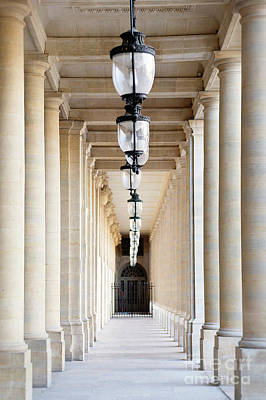 Photograph - Hallway At Palais Royal by Ivy Ho