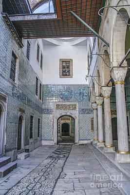 Hallway In Harem Of Topkapi  Art Print by Patricia Hofmeester