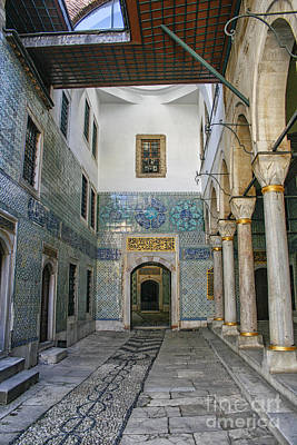 Photograph - Hallway In The Harem Of The Topkapi by Patricia Hofmeester