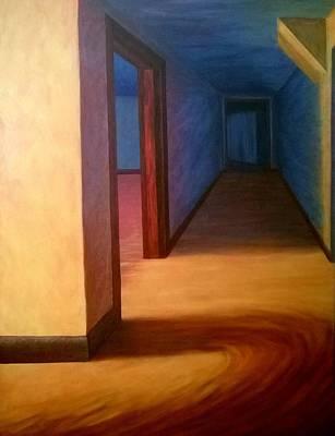Kohr Painting - Hallway by Joann Renner