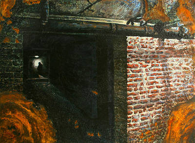 Painti Painting - Hallway by Marc DAgusto