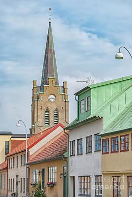 Photograph - Halmstad Street Scene by Antony McAulay