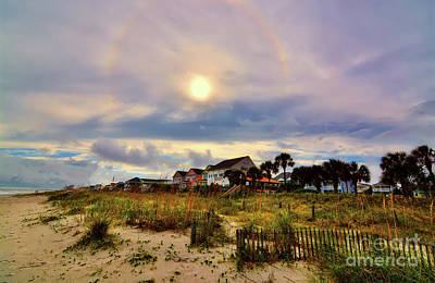 Photograph - Halo Around The Sun by Kathy Baccari