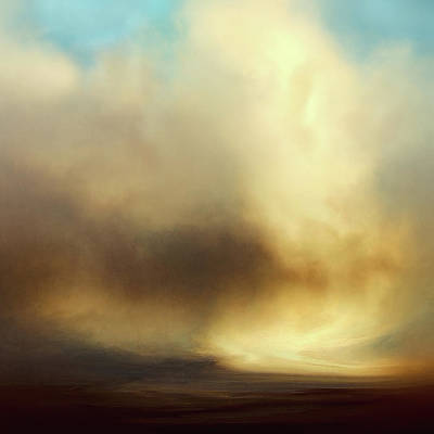 Abstract Landscape Royalty-Free and Rights-Managed Images - Halo by Lonnie Christopher