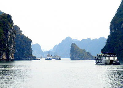 Photograph - Halong Bay 3 by Randall Weidner