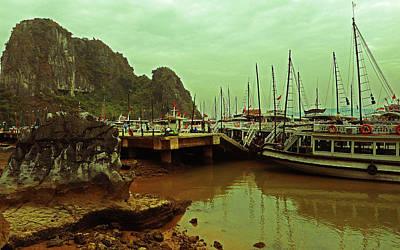 Photograph - Halong Bay 47 by Ron Kandt